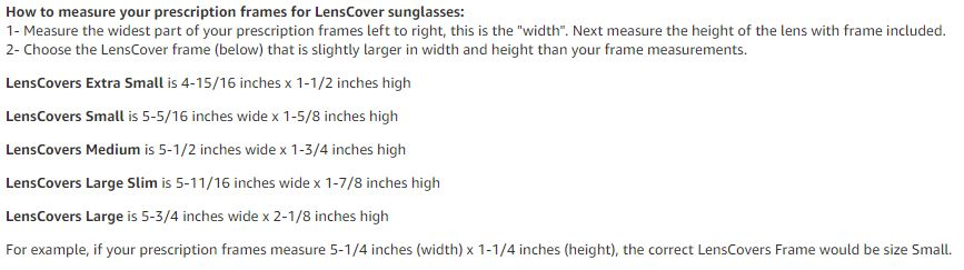 How to Select and Size Fit Over Polarized Sunglasses - Guide Recommended