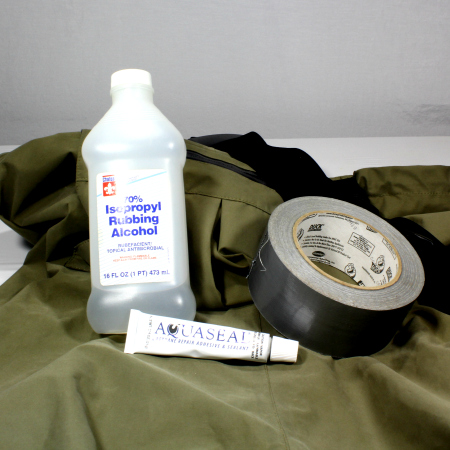 how to use aquaseal wader repair