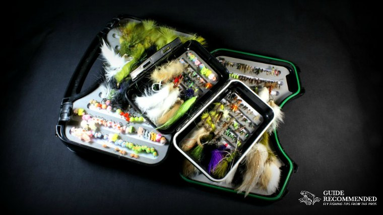 nymph fly box for fly fishing