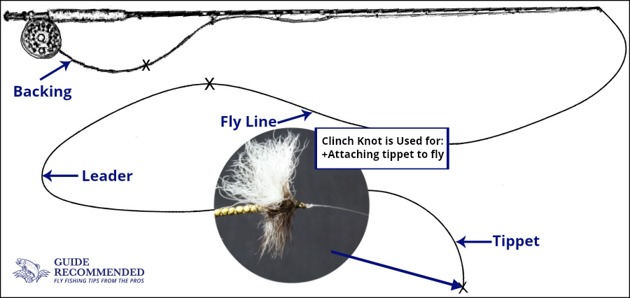 5 essential knots you must learn for fly fishing guide for Clinch knot fishing
