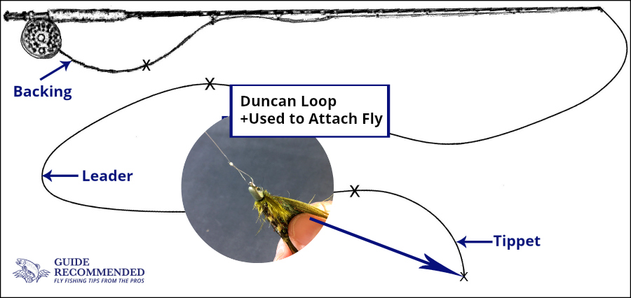 Duncan Loop to tie on fly