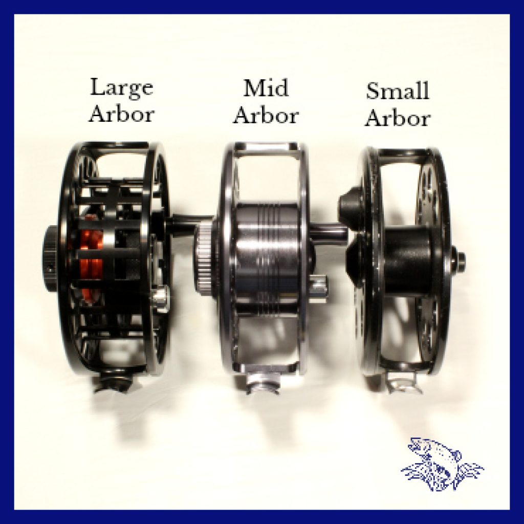 Fly Reel Arbor Size