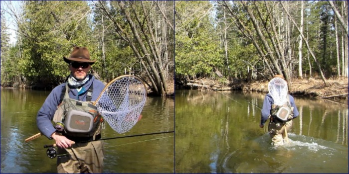Sling Pack for Fly Fishing