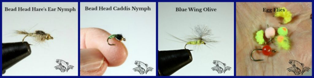 hares ear nymph_caddis nymph_blue wing olive_egg flies