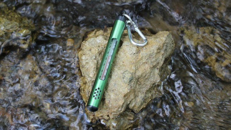 Stream Thermometer for trout
