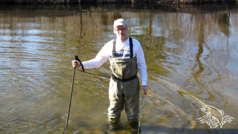 Be Safe and Use a Wading Staff While Fly Fishing
