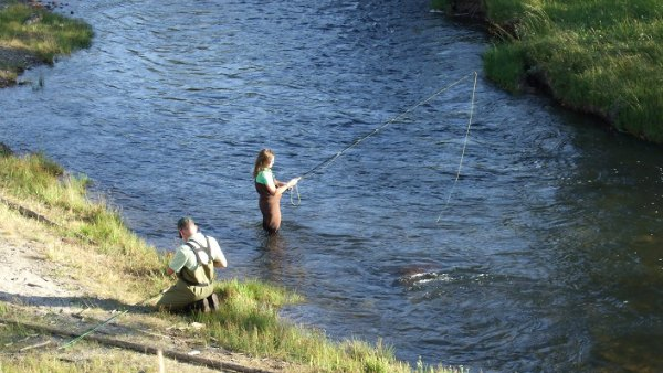 kids fun fly fishing