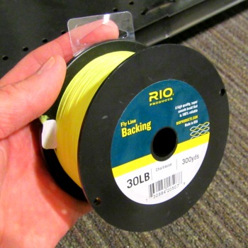 fly line backing color