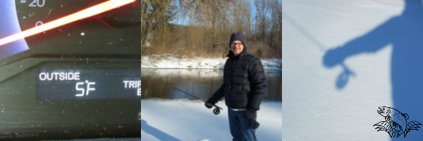 winter fly fishing warm