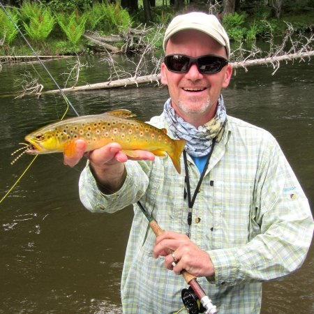 June Fly Fishing in Michigan