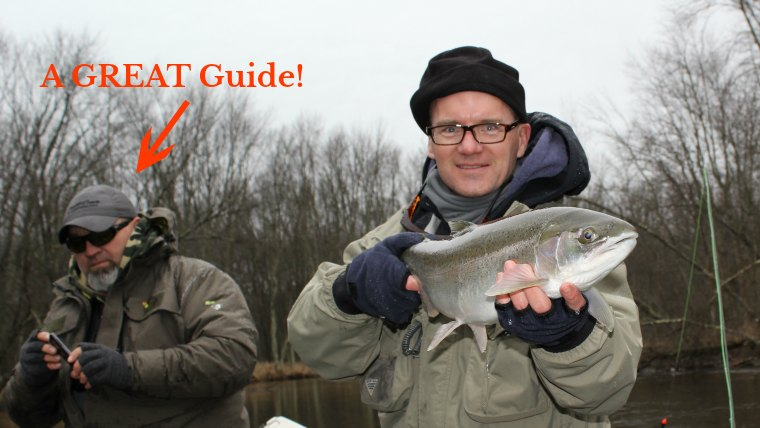 Tipping Fly Fishing Guide