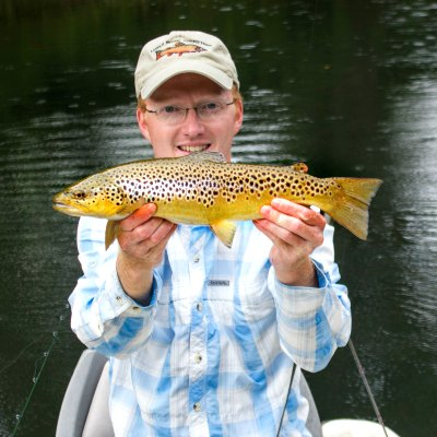 Clinch River Fly Fishing TN - Photo Credit David Knapp Trout Zone Anglers