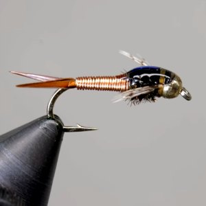 copper john steelhead fly