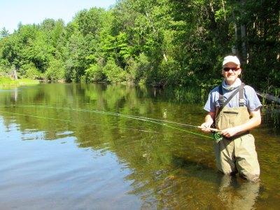 fly fishing the logan river
