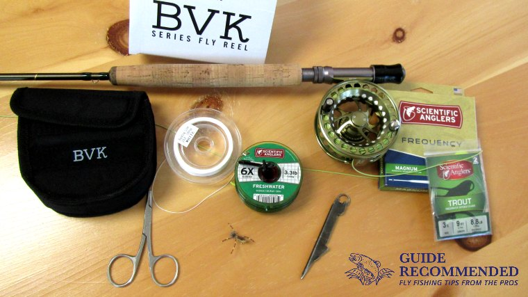 how to setup a fly rod