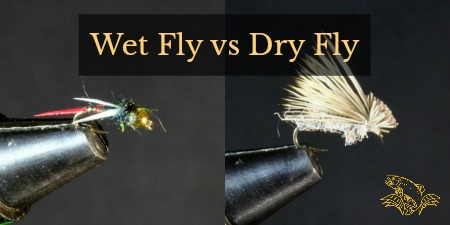 wet fly vs dry fly