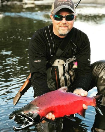 Fly Fishing at Riversong Lodge Alaska