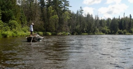 Fly Fishing on Androscoggin River