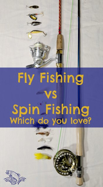 spin vs fly fishing