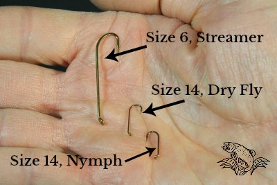hooks for tying flies