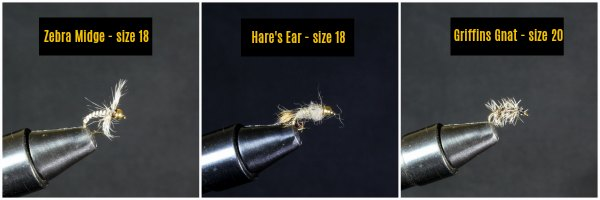 Favorite Midge Patterns for Fly Fishing