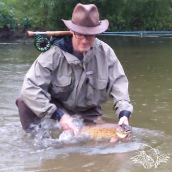 Fly Fishing in the Salmon River New York