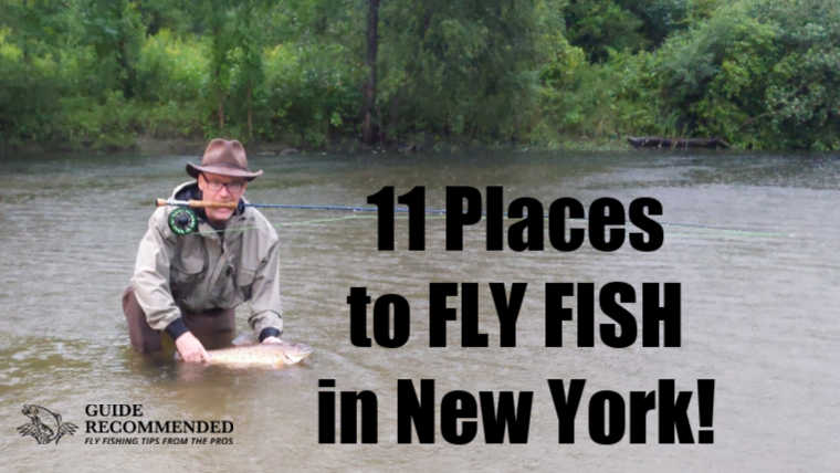 11 Best Places to Fly Fish in New York: MAPS INCLUDED