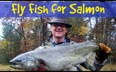 How to Fly Fish for Salmon (With Video)