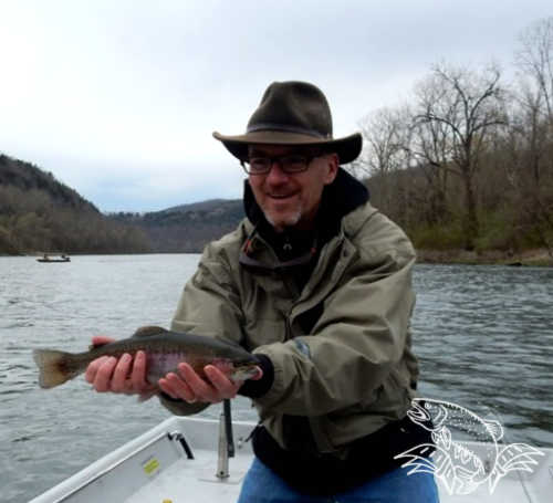 Fly Fishing on the White River in Arkansas