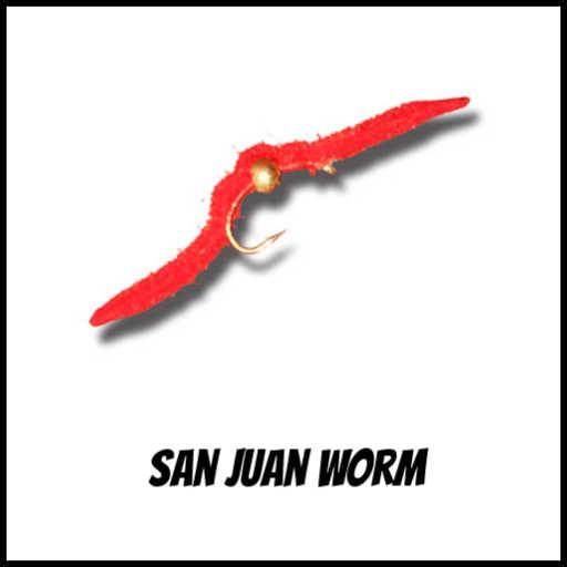 San Juan Worm for the San Juan River