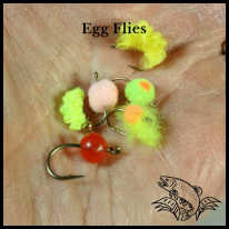 Egg Flies for fishing in Maine