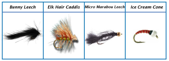 Favorite Brook Trout Flies 1- 4
