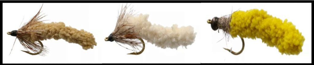 Mop Flies for Fly Fishing