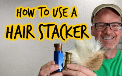 What is a Hair Stacker and How to Use it (with Videos)
