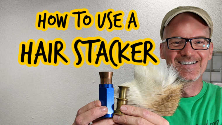 How to use a Hair Stacker