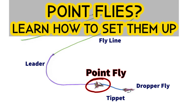 What is a Point Fly [Fishing with Multiple Flies]