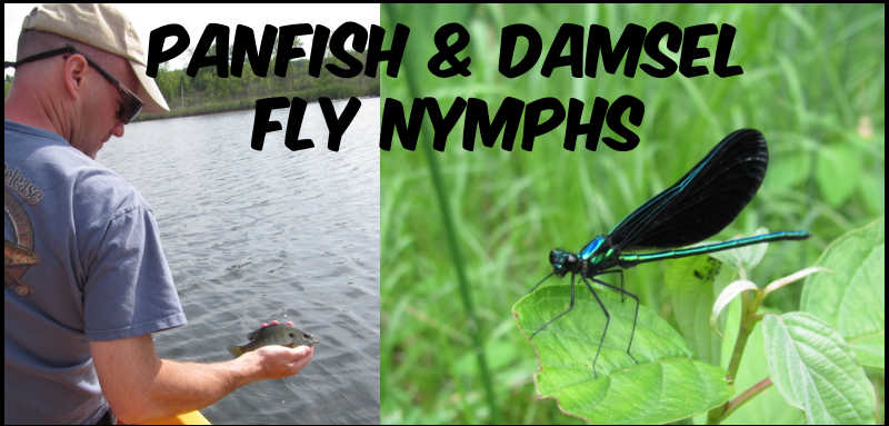 Fly Fishing with Nymphs for Panfish