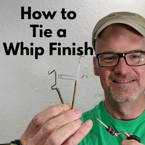 How to tie a whip finish - tying flies