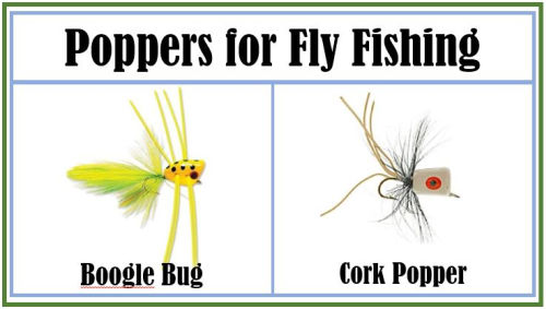 Poppers for Fly Fishing
