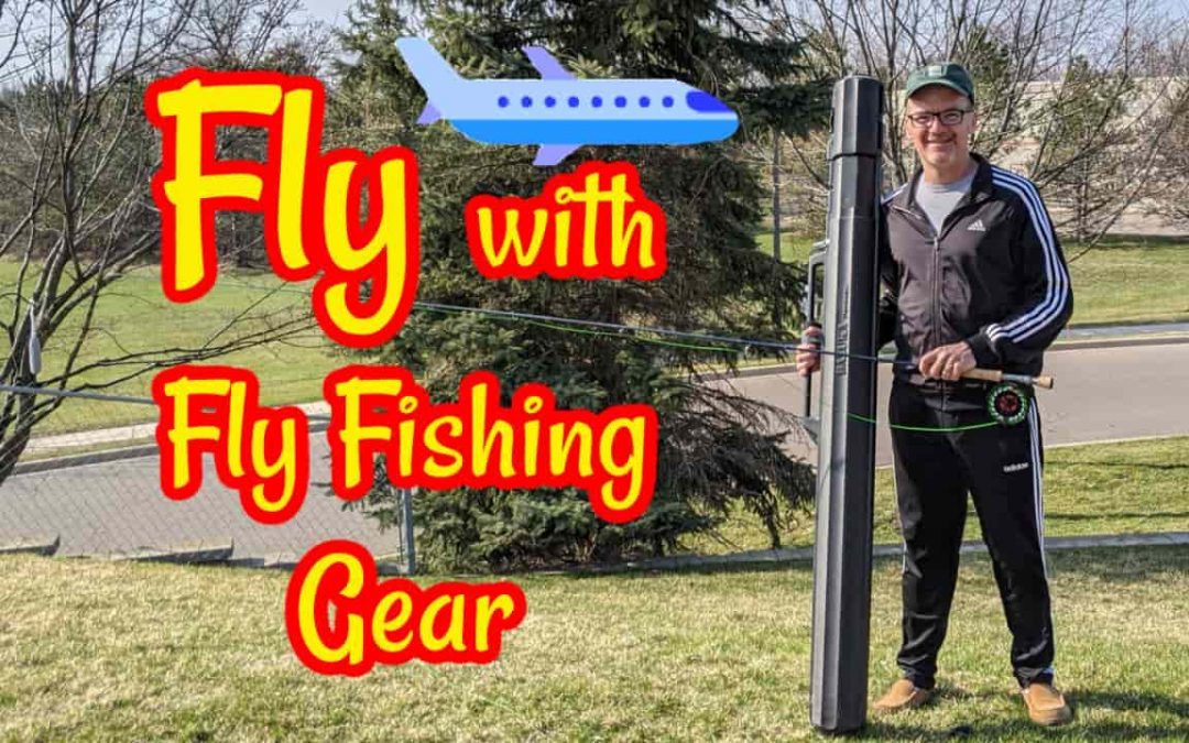 Fly with Fly Fishing Rod