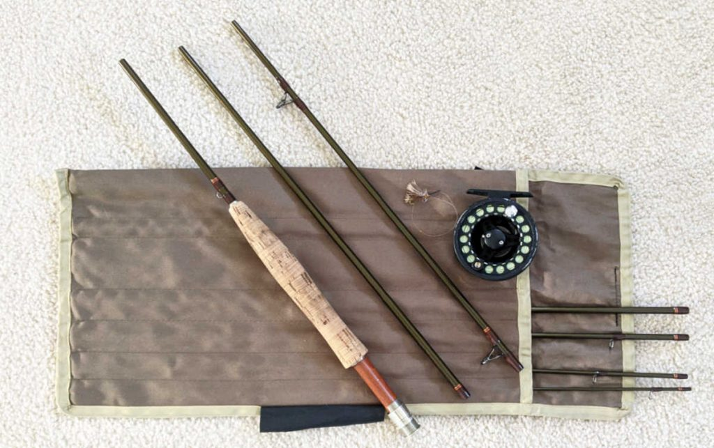 7-Piece Fly Rod, Great for traveling