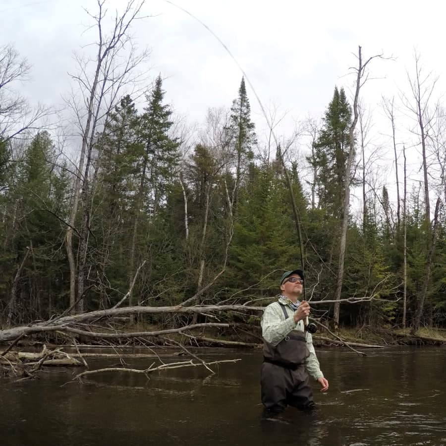 Casting a 9 foot 5 Weight Fly Rod