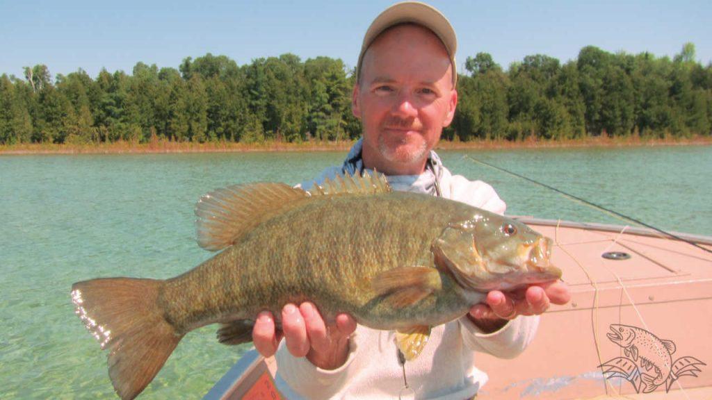 Catching Bass on Muddler Minnows