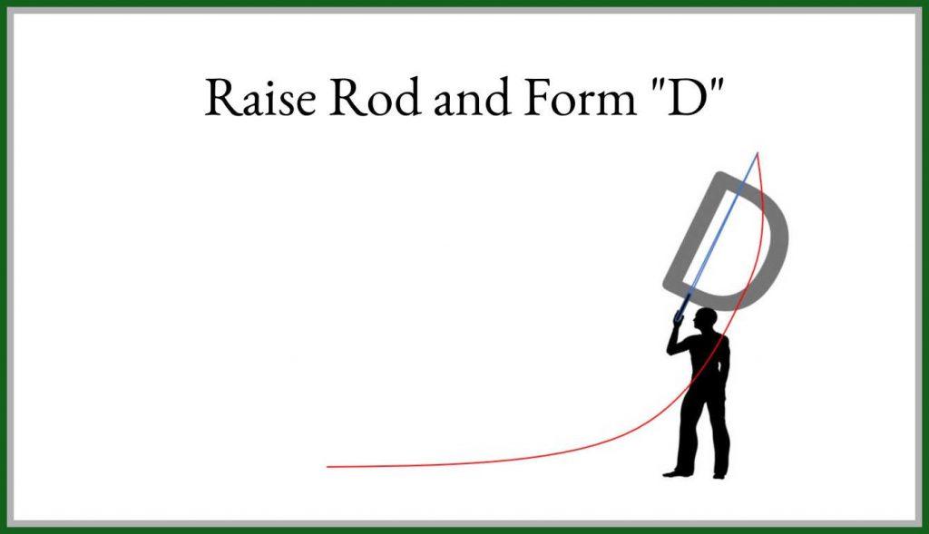 Step 3 Raise Rod Form D