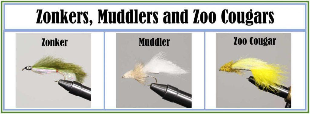 Zonker Muddler Zoo Cougar Flies