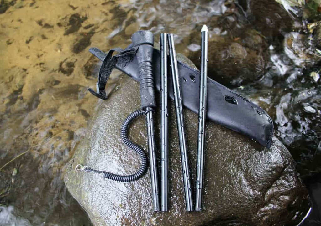 Folding Wading Staff for Fly Fishing