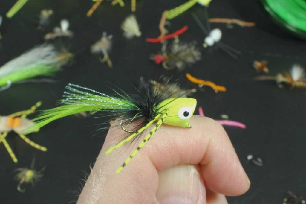 Popper Flies for Panfish
