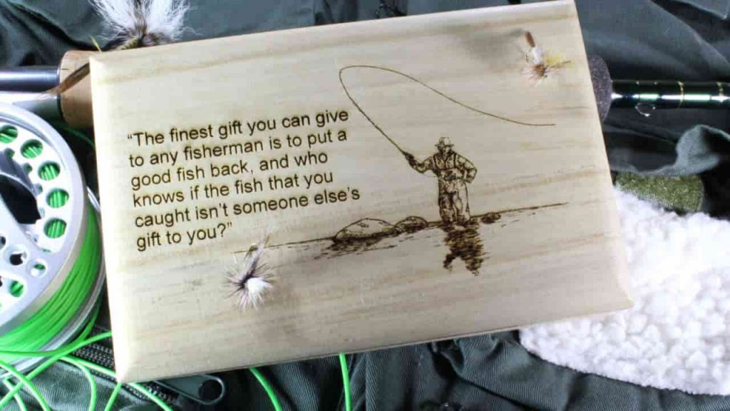 the finest gift to a fisherman