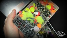 How to tie and fish a basic nymph indicator rig guide for Fly fishing split shot